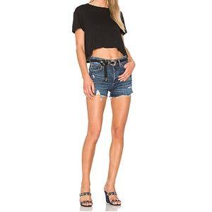 AGOLDE Jaden Jean Cutoff Shorts